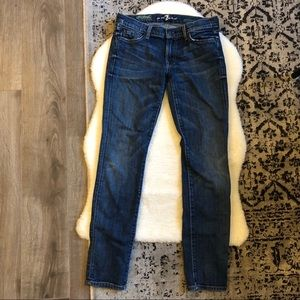 7 For All Mankind Gwenevere Super Skinny, size 28
